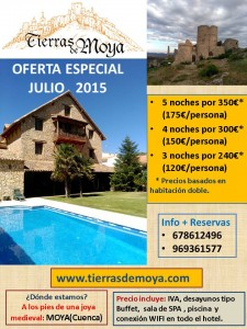 OFERTA JULIO 2015 tierras moya